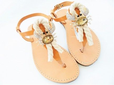 Crabs Charm Sandals