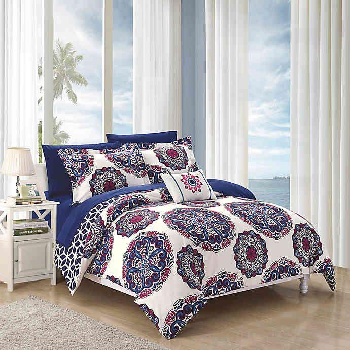 Chic Home Barella Reversible Comforter Set Bed Bath Beyond In