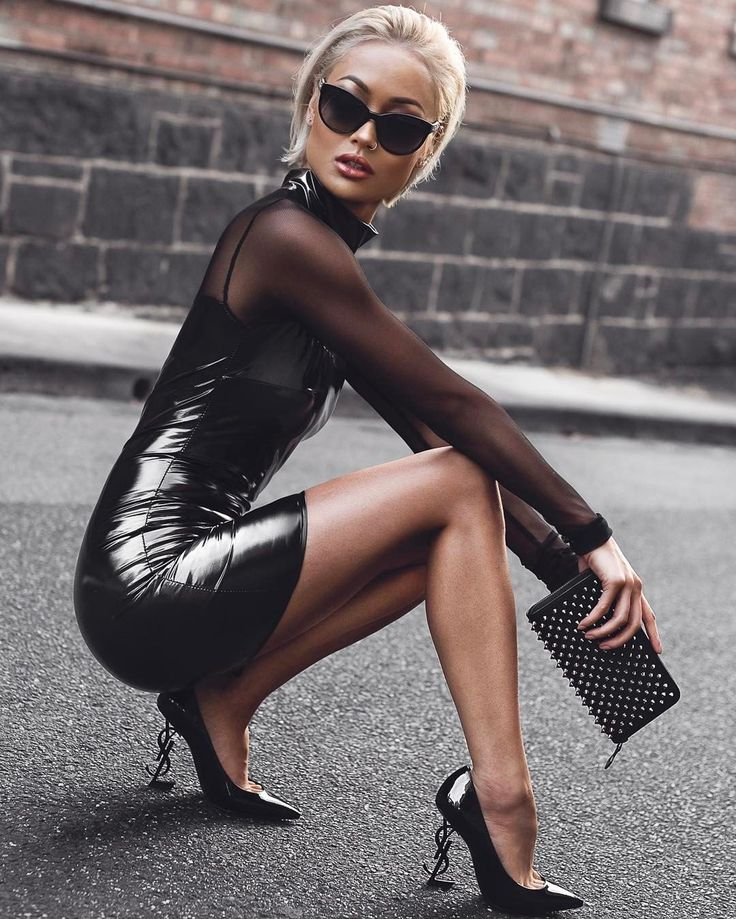 Trinity / Matrix slay Shades @chanelofficial / Purse @louboutinworld / Heels @ysl