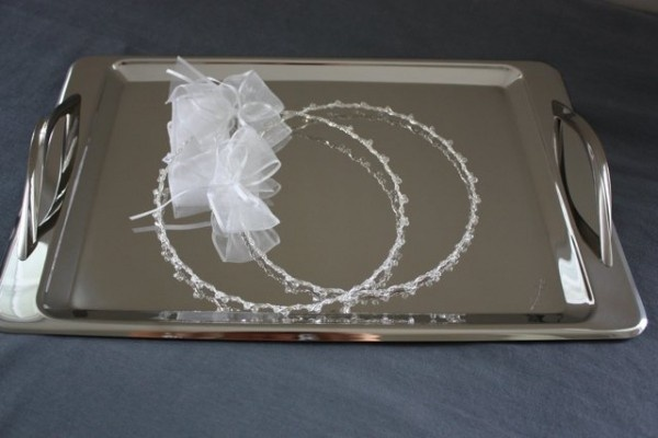 Silver Plated Modern Tray, $125.00 at Greek Wedding Shop ~ http://www.greekweddingshop.com