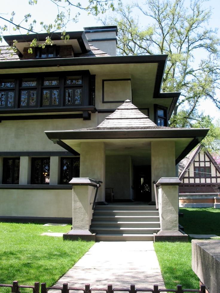 Frank Lloyd Wright Style House Home Design