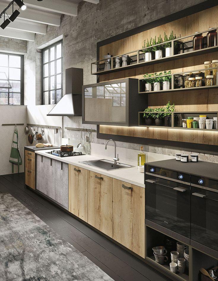 Choisir cuisine industrielle marre des cuisines for Cuisine ouverte industrielle