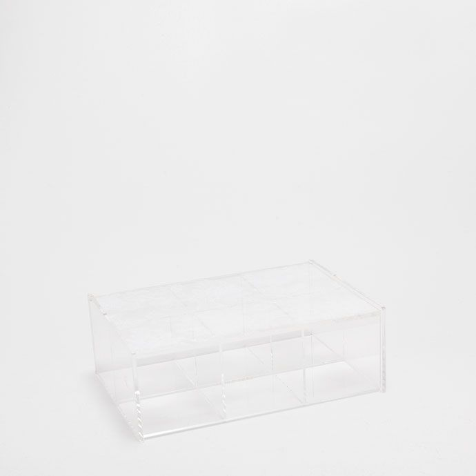 2-TIERED METHACRYLATE BOX - Boxes - Decoration | Zara Home United States of America