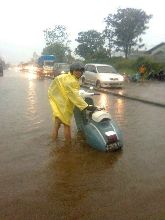 Bogor, Terperangkap di antara air yg tak diharapkan