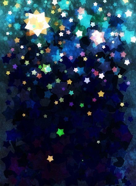 ☆  ★  ☆    Stars, stars, stars... Oh...I will have to make a star filter for my camera this year!