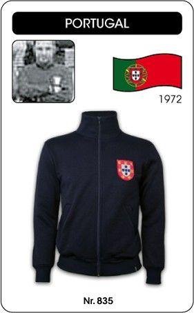 Portugal voetbal jack 1972 retro voetbal truitje football soccer vintage sport COPA