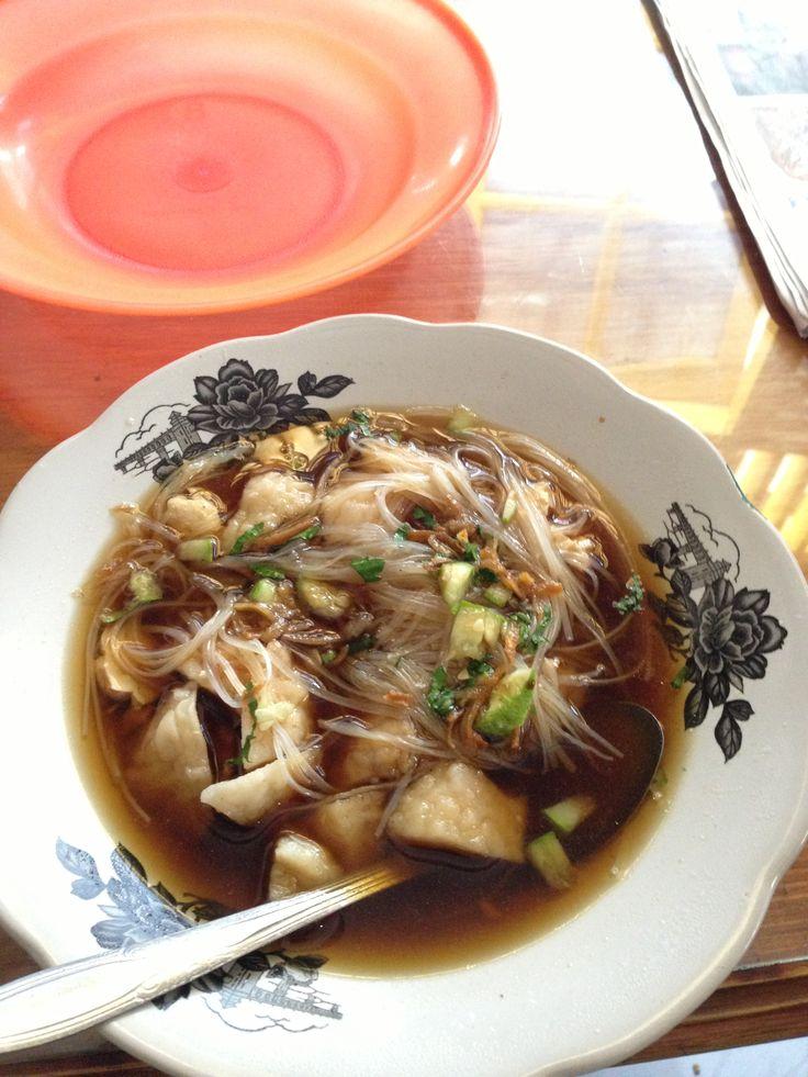 Tekwan from Palembang