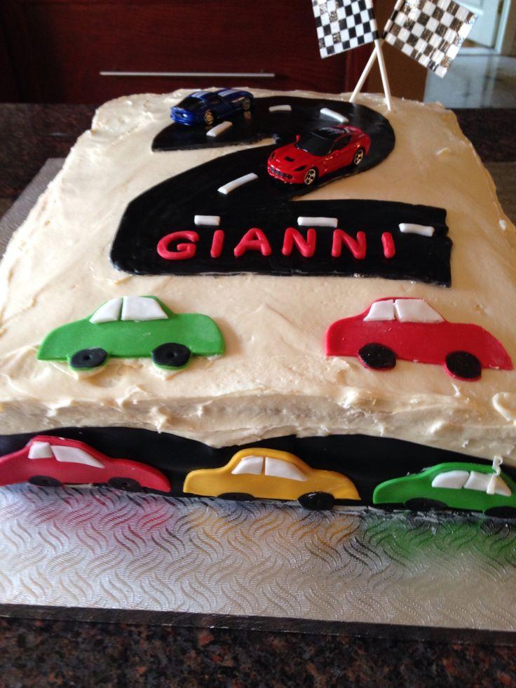 Gianni 2nd bday cake