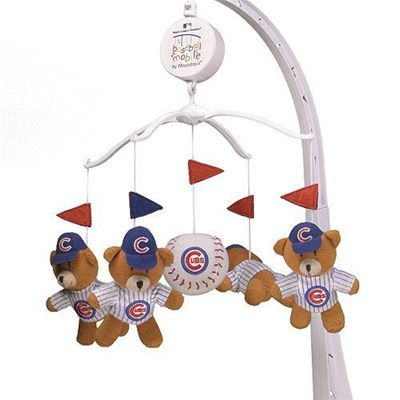 Chicago Cubs Baby Mobile. Have it and he loves it.
