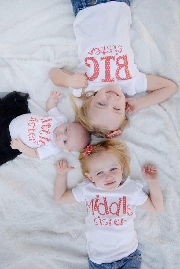 Big Sister, Middle Sister, Little Sister.: Girl, Photo Ideas, Big Brothers, Big Sisters, Baby, Little Sisters, Kid, Picture Ideas