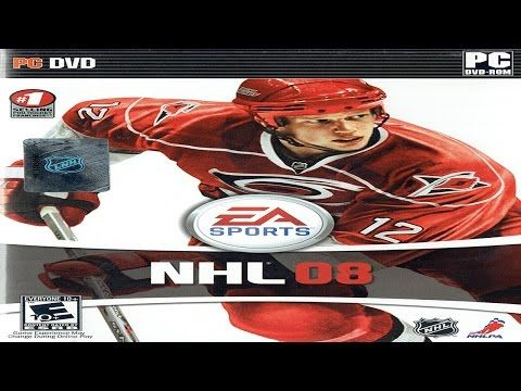 NHL 08 Windows Vista Gameplay (EA Sports 2007) (HD) - YouTube