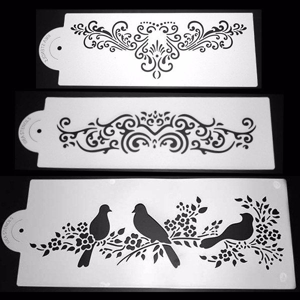 wedding cake stencils printable printables birds 10 handpicked ideas to discover in diy 25704