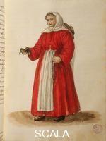 Grevenbroeck, Jan il giovane (1731-1807) 'Gli abiti d veneziani di quasi ogni età con diligenza raccolti e dipinti '. Orfanella veneziana