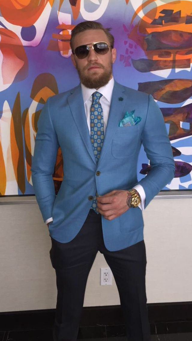 Conor McGregor -- The Sam Rothstein blazer