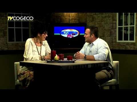 Cathy Rocca on TV Cogeco talking about the Burlington Applefest