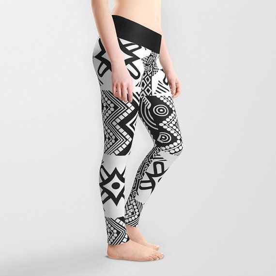 Leggings, African Print Dress, African Clothing, African Fabric Dress, Afrocentric Clothing, African Wear, African Fashion, African Shop IN STOCK $45