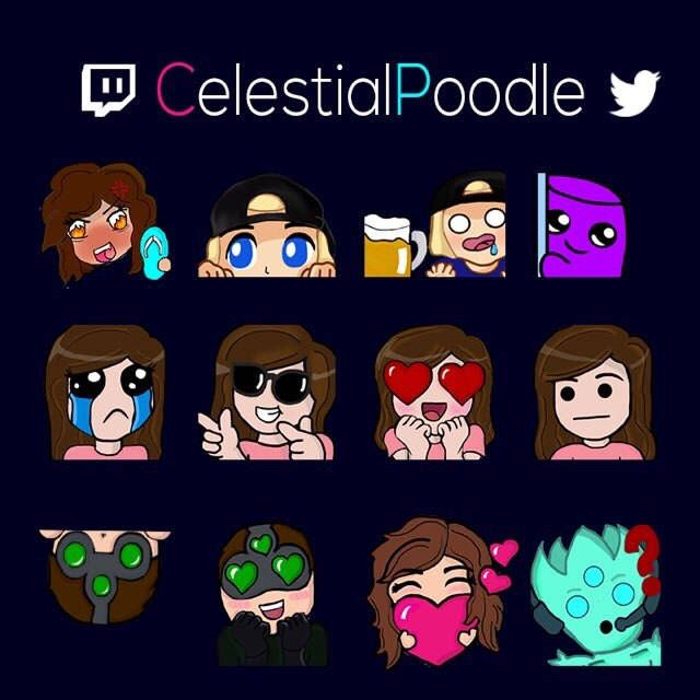 Twitch Emotes in 2019 | Twitch | Drawings, Inspiration, Art