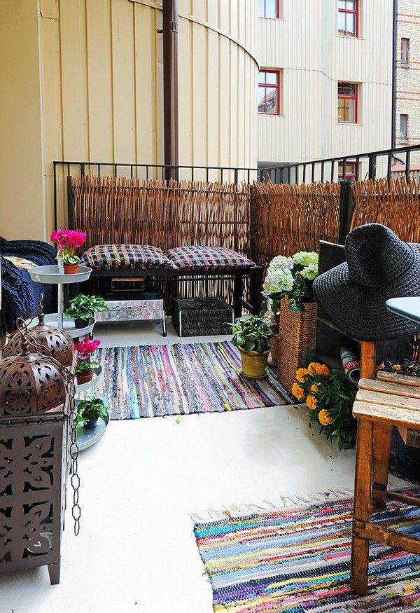 Best Beautiful Balcony Images On Pinterest Balcony Ideas