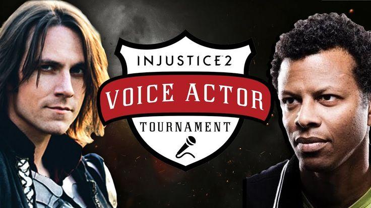 Phil LaMarr (Darkseid, Deadshot) vs. Matthew Mercer (Supergirl) - Injustice 2 Voice Actor Tournament https://www.youtube.com/watch?v=Vqqng-CJ4nE&t=113s