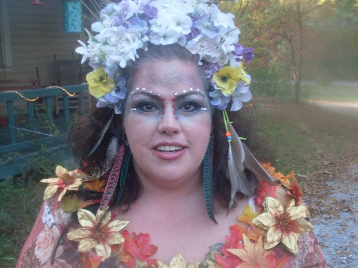 11 best costume ideas images on pinterest carnivals halloween me halloween 2011 dressed as mother nature i made the costume myself headpeice and all because i love me if you do not love yourself how can you solutioingenieria Images