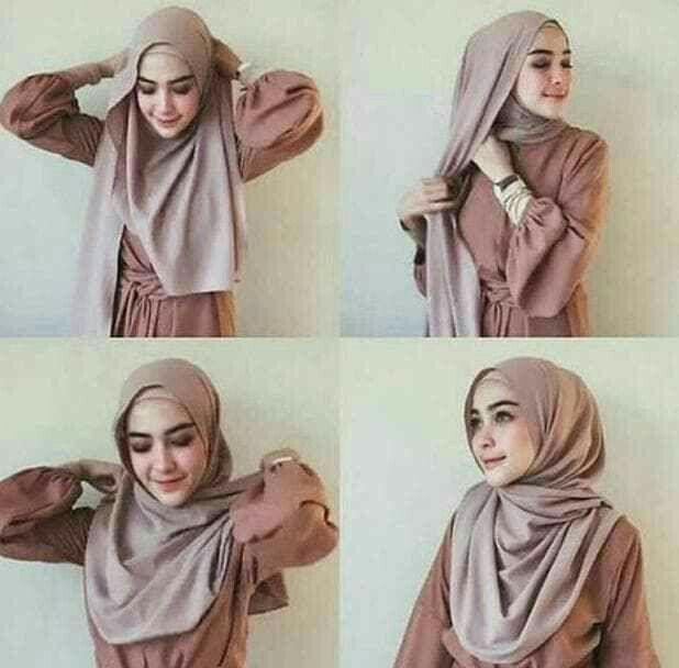 Tutorial Hijab Pashmina Untuk Wajah Tembem Cara Lif Co Id