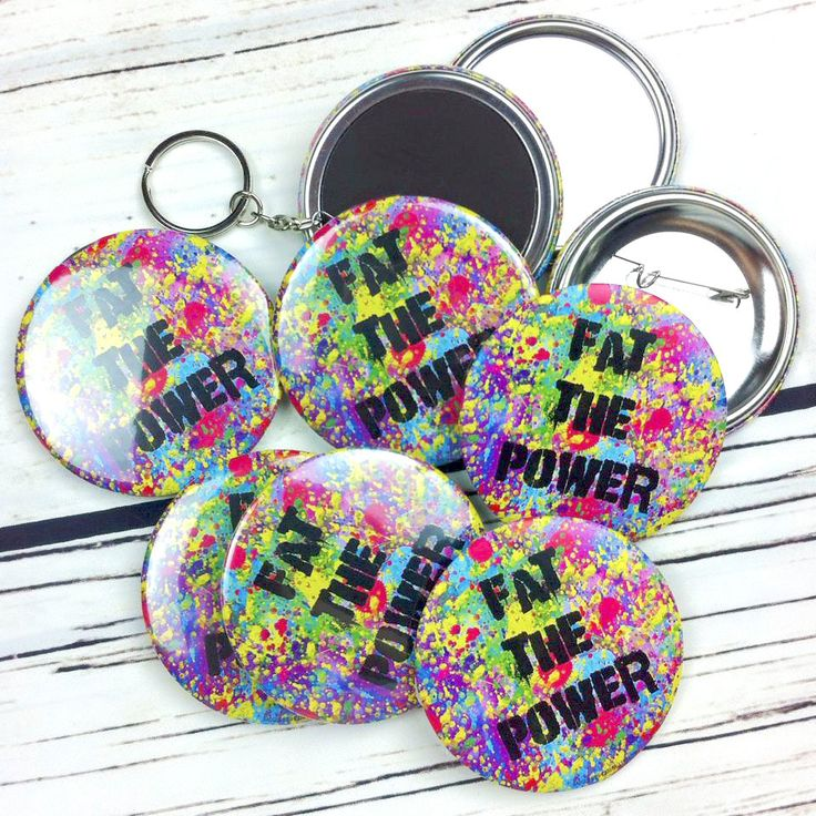 50 Custom 58mm Badges Wholesale - Your Design Here! by IHeartGallery on Etsy