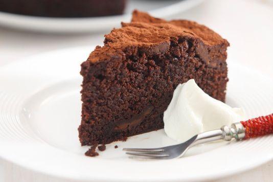 Hot chocolate cake | Gluten free goodies | Pinterest
