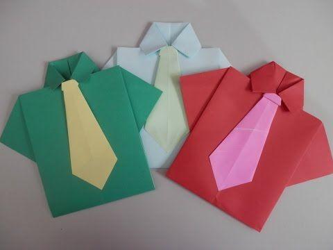 Como fazer Vestido de papel - How to make a Dress - Origami - YouTube