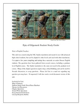 Gilgamesh Research Papers examine the Epic of Gilgamesh