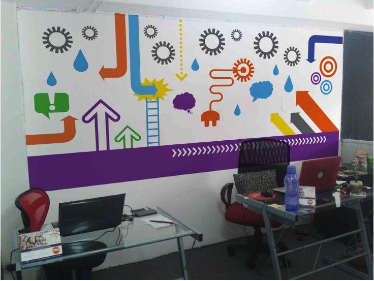 Propuesta para rea creativa en oficina combinaci n de for Areas de una oficina