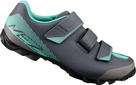 Shimano Women's ME2 Mountain Bike Shoes Black/Green 38