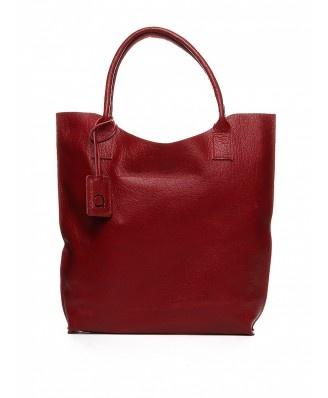Rewelacyjna, prosta torebka wykonana ze skóry naturalnej. Idealna na każdy dzień.