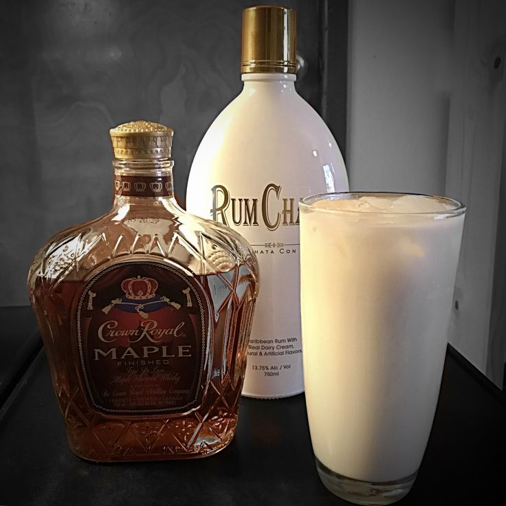 Crown Royal Maple And Rumchata Is Life Drink Therapy