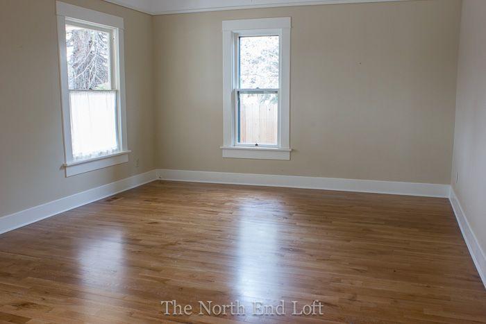 installing new hardwood floors, special walnut stain on white oak floors, rift and quarter sawn white oak floors