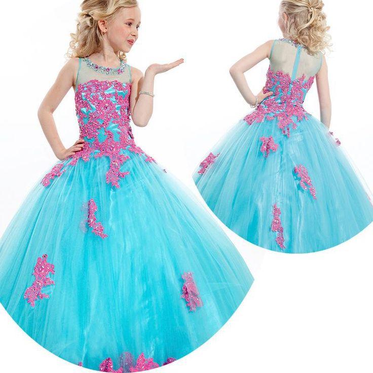 Vestidos de princesa para niña 1