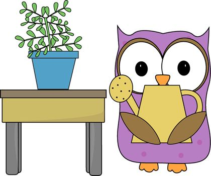 7 owl clip art