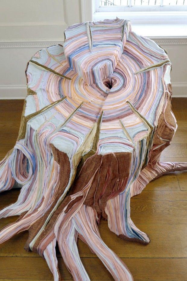 Magnifiques Sculptures Textiles De Tamara Kostianovsky Fabric