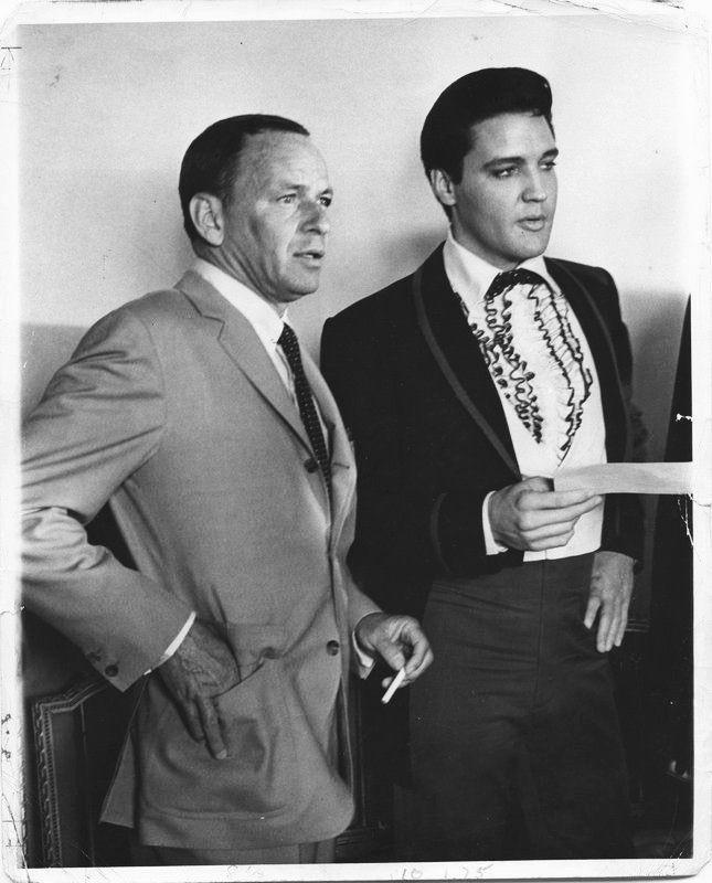 Frank Sinatra & Elvis Presley