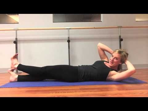 A 6 minutes Pilates ab workout that will make you WORK! #pilates #abs #workout