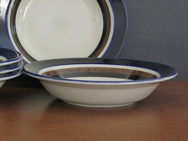 Vintage Arabia Finland Saara Cereal Bowl - Scandinavian Mid Century - 1970s Anja Jaatinen-Winquist - Arabia Finland - 5 Available at Eight Mile Vintage on Etsy