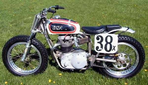 BSA Custom Flat Tracker Motorcycle