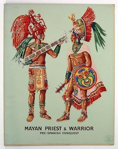 ancient aztec clothing - 396×500