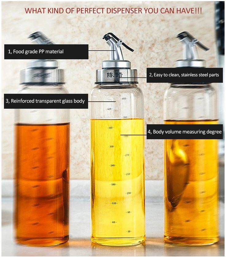 kitchen oil dispenser bottles for olive oil vinegar condiments sauce storage glass bottles with on kitchen organization oil and vinegar id=97988
