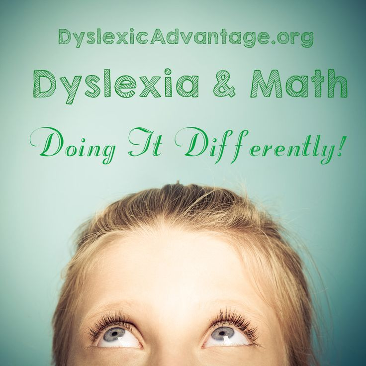 """Interesting finding from the brain research lab at Georgetown. """"The brains of children with dyslexia rely on unusual strategies to solve certain kinds of math problems, researchers report in NeuroI..."""