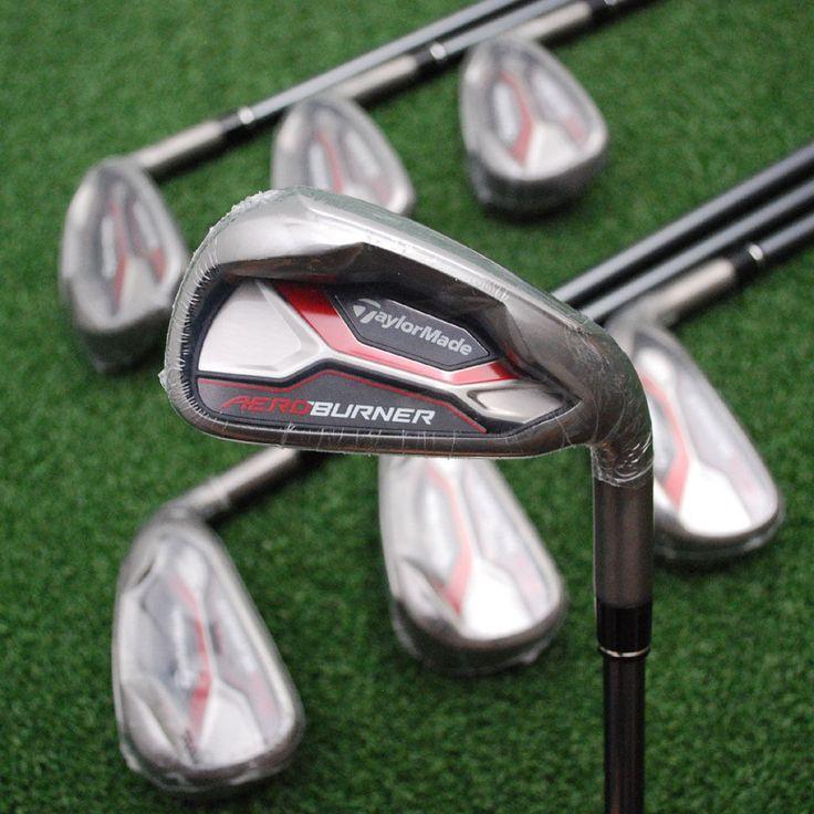 cool TaylorMade Golf Aeroburner Iron Set 4-PW Graphite Stiff Flex - NEW Irons   Check more at http://harmonisproduction.com/taylormade-golf-aeroburner-iron-set-4-pw-graphite-stiff-flex-new-irons/