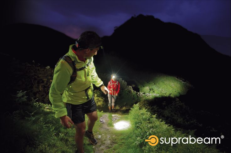 Hiking with the V3air rechargeable headlamps.