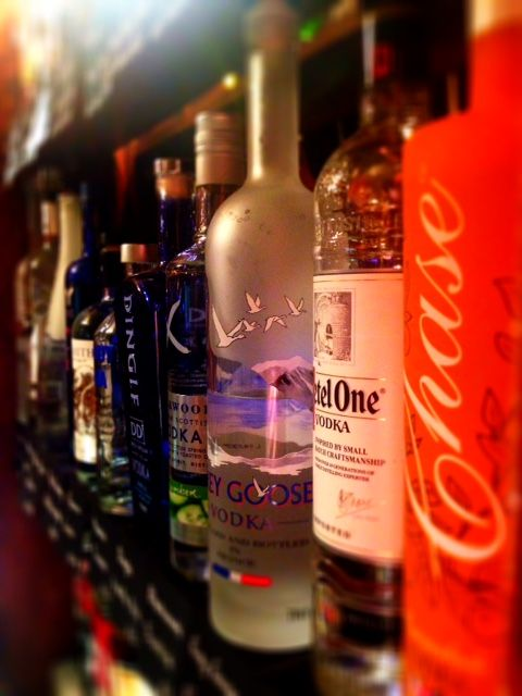 Sample our selection of World Vodkas, not just any vodka will do, savour your drink, find the vodka to match your personality.