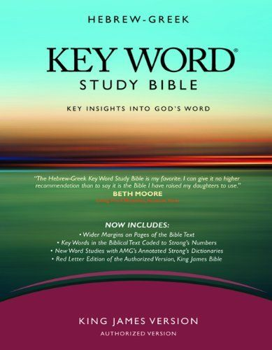 AMG Publisher's NASB Hebrew-Greek Key Word Study Bible ...