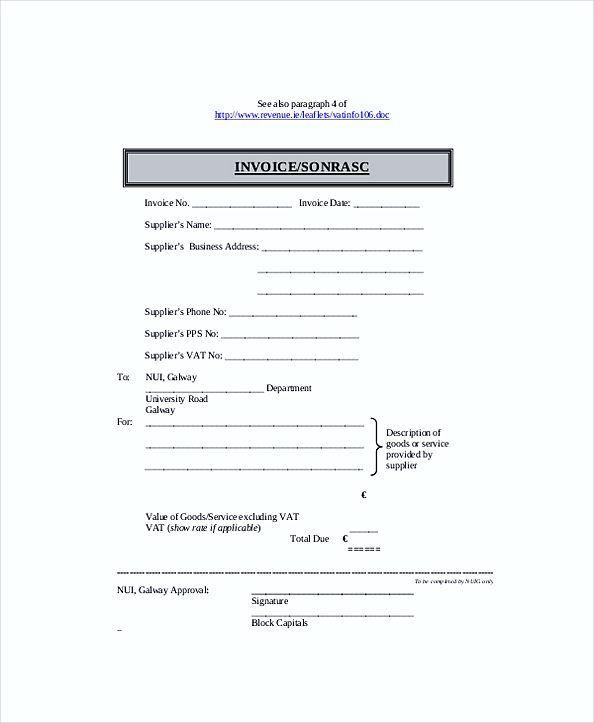 Self Employed Billing Invoice Templates Work Invoice Template Reading About Details Of Work Invoice T Invoice Template Invoice Template Word Invoice Sample
