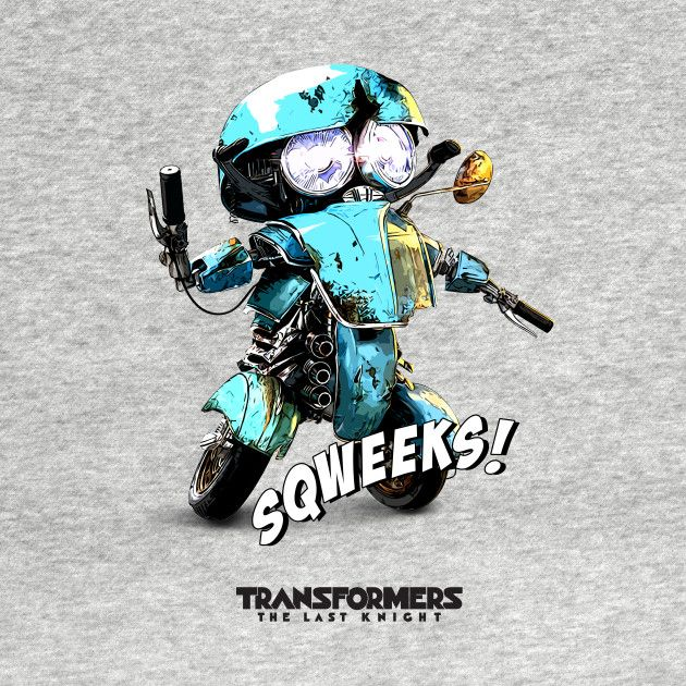 Check out this awesome 'Autobots+Sqweeks' design on @TeePublic!